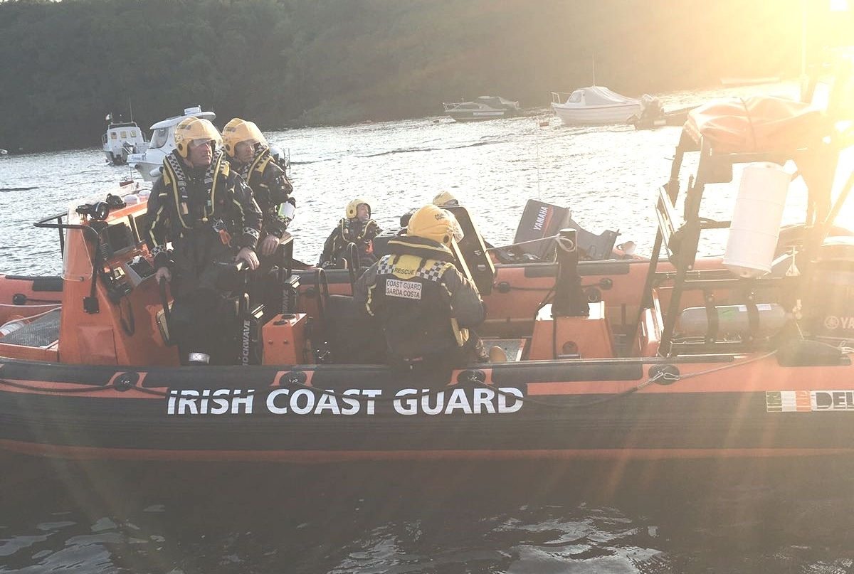 Killala Coast Guard Safety Event